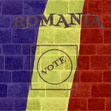 Eleição de Romênia Foto de Stock Royalty Free
