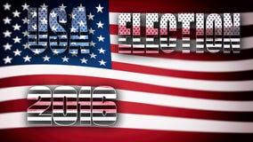 Eleição 2016 dos EUA Foto de Stock