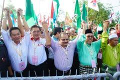 Eleição geral 2013 de Malásia Foto de Stock