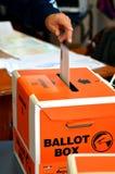 2014 eleição geral - eleições Nova Zelândia Foto de Stock Royalty Free