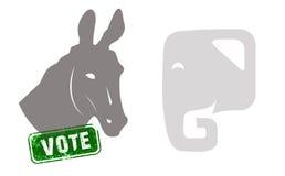 Eleição presidencial dos E.U. Imagens de Stock
