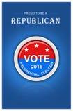 Eleição presidencial dos E.U. Foto de Stock