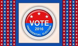 Eleição presidencial dos E.U. Fotografia de Stock Royalty Free
