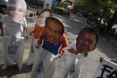 A ELEIÇÃO PRESIDENCIAL A MAIS APERTADA DE INDONÉSIA Imagem de Stock Royalty Free