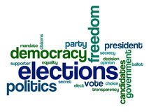 eleições ilustração royalty free