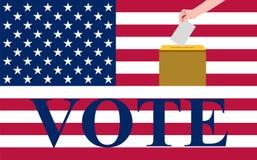 Eleições dos E.U. Fotos de Stock