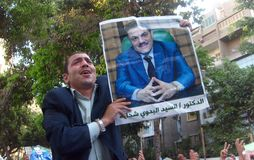 Eleições em Egipto fotos de stock royalty free