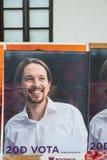 Eleições espanholas 2015 Fotografia de Stock Royalty Free
