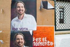 Eleições espanholas 2015 Imagem de Stock Royalty Free