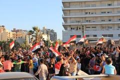 Eleições presidenciais de Egipto Fotografia de Stock Royalty Free