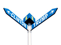Eleições presidenciais nos E.U. Foto de Stock