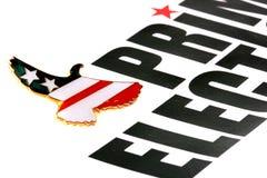 Eleições primárias Imagem de Stock Royalty Free