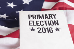 Eleição 2016 Foto de Stock
