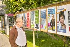 Eleitor 2014 das eleições europeias em Alemanha Fotografia de Stock Royalty Free