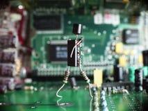 Elekctronics sind überall lizenzfreie stockfotos
