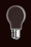 Elektricheskaya a bulb is empty in the middle Royalty Free Stock Images
