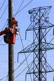 Elektricien Royalty-vrije Stock Foto's