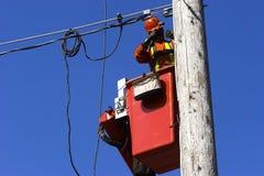Elektricien Royalty-vrije Stock Afbeeldingen