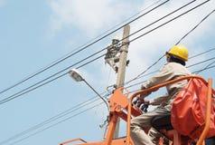 Elektricien 6 Royalty-vrije Stock Afbeeldingen