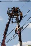 elektricien Stock Fotografie