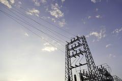 Elektriciteit stock afbeeldingen