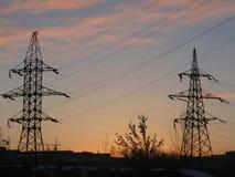 Elektriciteit Royalty-vrije Stock Foto