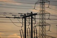 elektriciteit Royalty-vrije Stock Fotografie