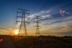 elektriciteit Royalty-vrije Stock Afbeeldingen