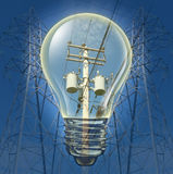 Elektriciteitsconcept Stock Afbeelding