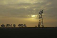 Elektriciteitsdistributie Royalty-vrije Stock Foto's