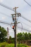 Elektriciteitsinstantie Stock Foto