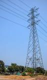 Elektriciteitspost Royalty-vrije Stock Foto's