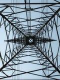 Elektriciteitspost Stock Afbeeldingen
