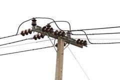Elektriciteitspost Royalty-vrije Stock Afbeeldingen