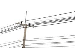 Elektriciteitspost Stock Afbeelding