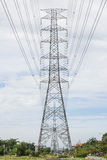 Elektriciteitspylonen Stock Afbeelding