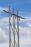 Elektriciteitspyloon Royalty-vrije Stock Foto's