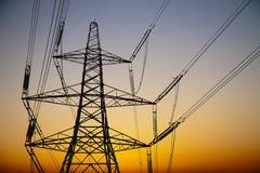 Elektriciteitspyloon Royalty-vrije Stock Foto