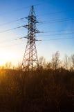 Elektriciteitspyloon Royalty-vrije Stock Afbeeldingen