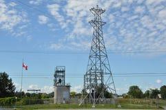 Elektriciteitstoren Royalty-vrije Stock Afbeeldingen