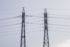 Elektriciteitstorens Royalty-vrije Stock Foto