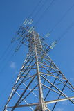 Elektriciteitstransmissie Royalty-vrije Stock Afbeelding