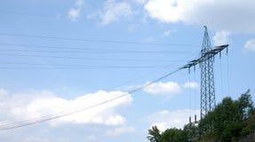 elektricitet Arkivfoton