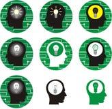 Elektricitet royaltyfri illustrationer