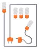 elektricitet Royaltyfria Foton