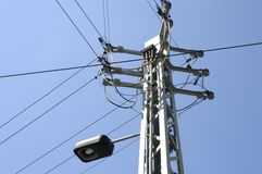 elektricitet ii royaltyfri fotografi