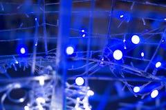 Elektricitetsabstrakt begrepp Arkivbild