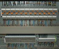 Elektricitetsanslutning Arkivbild