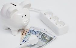 Elektricitetskostnader Royaltyfri Bild