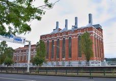 elektricitetslisbon museum royaltyfria foton